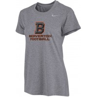 Beaverton Youth Football 03: Nike Women's Legend Short-Sleeve Training Top with Beaverton Logo on Front, Quote on Back