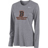 Beaverton Youth Football 06: Nike Women's Legend Long-Sleeve Training Top with Beaverton Logo on Front, Quote on Back