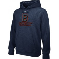 Beaverton Youth Football 09: Adult-Size - Nike Team Club Men's Fleece Training Hoodie - Anthracite