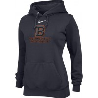 Beaverton Youth Football 11: Nike Team Club Women's Fleece Training Hoodie - Anthracite